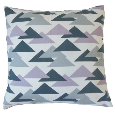 Wyome Geometric Cotton Throw Pillow Cover Color: Saffron