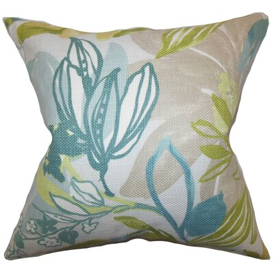 Ebele Floral Throw Pillow Size: 20 x 20
