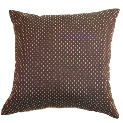Landon Dots Throw Pillow Size: 22