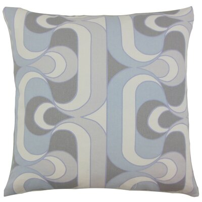 Nairobi Geometric Throw Pillow Cover Color: Pewter