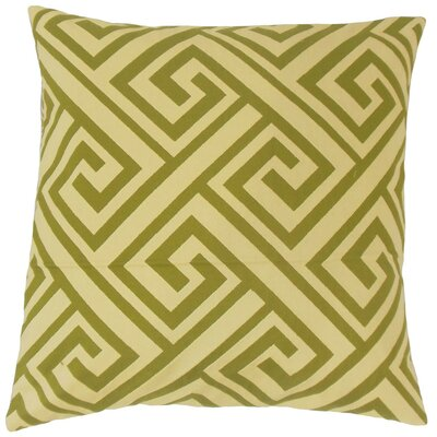 Mairwen Geometric Throw Pillow Size: 18 x 18