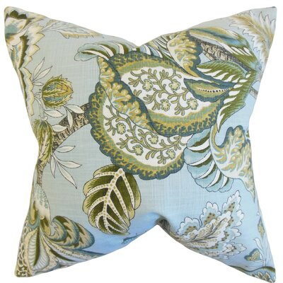 Perrin Floral Cotton Throw Pillow Cover