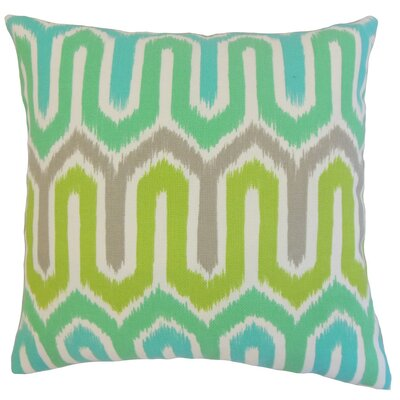 Cahya Geometric Outdoor Throw Pillow Cover