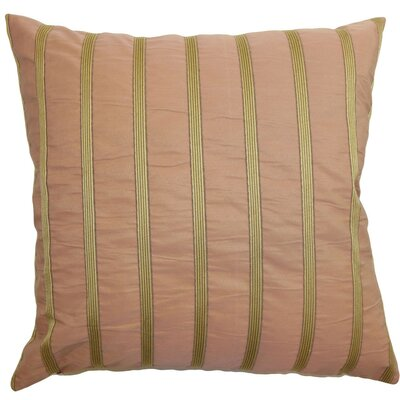 Darja Stripes Throw Pillow Size: 18 x 18