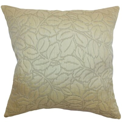 Chandlee Floral Velvet Throw Pillow Cover