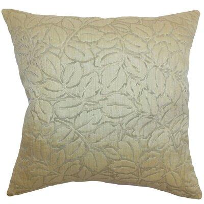 Perdita Floral Velvet Throw Pillow Cover