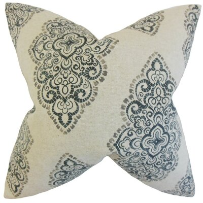 Elexis Damask Throw Pillow Size: 18 x 18