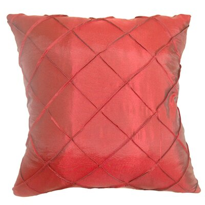 Tamara Quilted Cotton Throw Pillow Cover