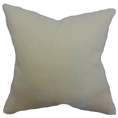 Dajana Plain Throw Pillow Size: 18 x 18