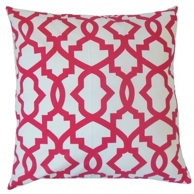 Zeljko Geometric Cotton Throw Pillow Cover