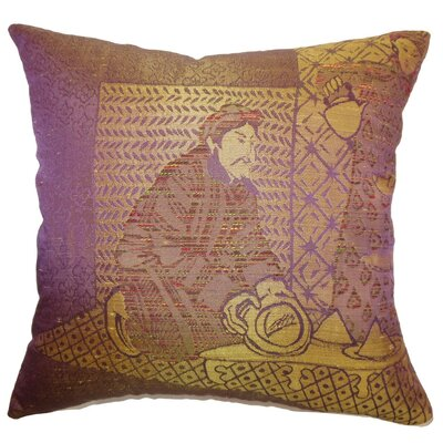 Ladinas Weave Throw Pillow Size: 18 x 18