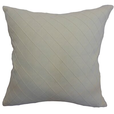 Harsent Quilted Velvet Throw Pillow Cover