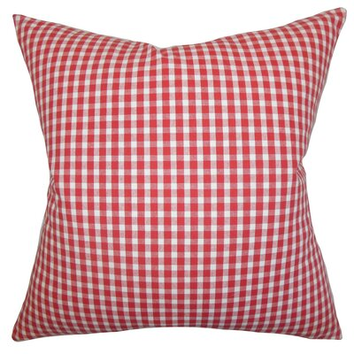 Jhode Plaid Cotton Throw Pillow Cover