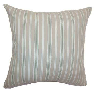 Bencelina Stripes Cotton Throw Pillow Size: 20 x 20