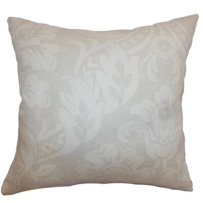 Marcail Floral Cotton Throw Pillow Cover