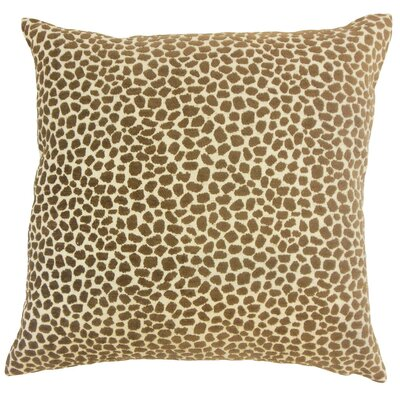 Meltem Animal Print Cotton Throw Pillow Cover