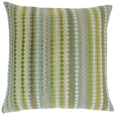 Kawena Geometric Throw Pillow Cover Color: Lake
