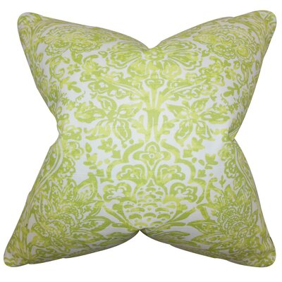 Daija Floral Cotton Throw Pillow Size: 18 x 18