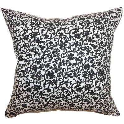 Vappi Floral Cotton Throw Pillow Size: 18 x 18
