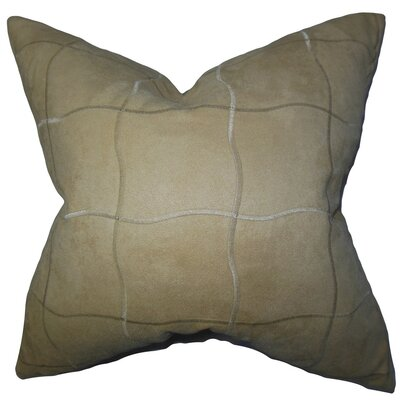 Afra Solid Throw Pillow Size: 18 x 18