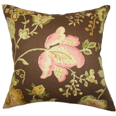 Kelila Floral Cotton Throw Pillow Cover