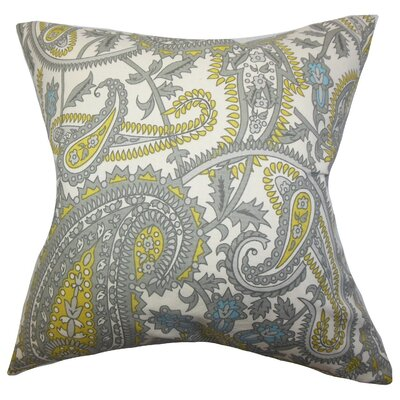 Putri Paisley Cotton Throw Pillow Cover