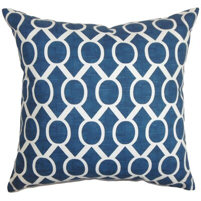 Raziya Cotton Throw Pillow Size: 18 x 18