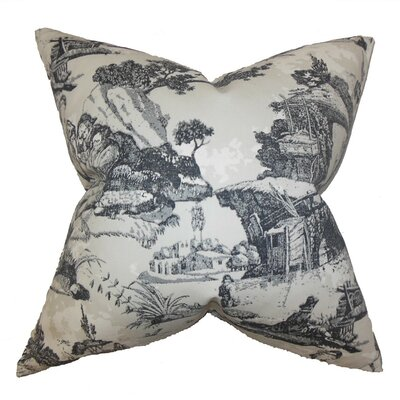 Toile Throw Pillow Size: 24 x 24
