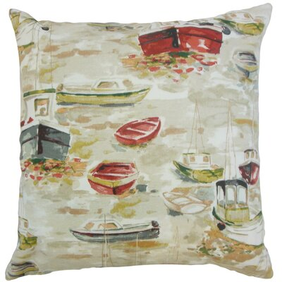 Iara Outdoor Cotton Throw Pillow Cover Color: Multi