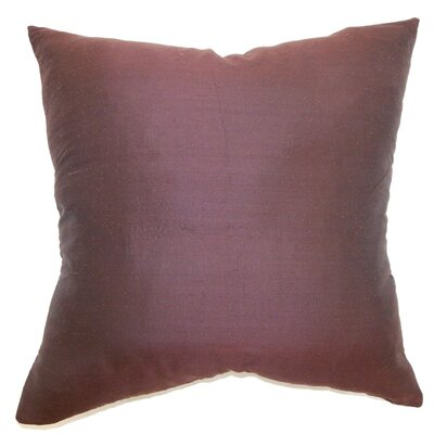 Bradlee Solid Throw Pillow Cover