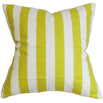 Ilaam Stripes Throw Pillow Size: 18 x 18