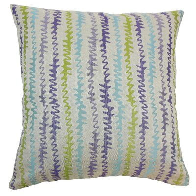 Malu Throw Pillow Color: Kismet, Size: 18 x 18