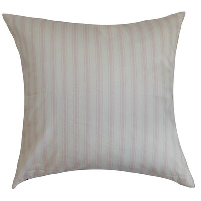 Kelanoa Stripes Cotton Throw Pillow Cover Color: Bella Twill
