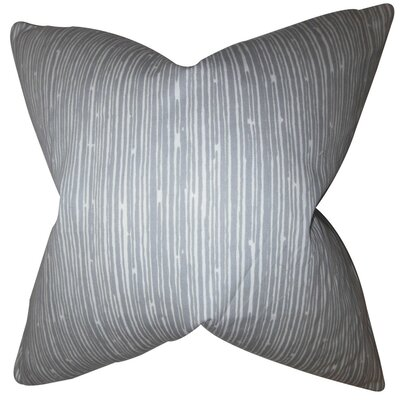 Hecuba Stripes Cotton Throw Pillow Cover
