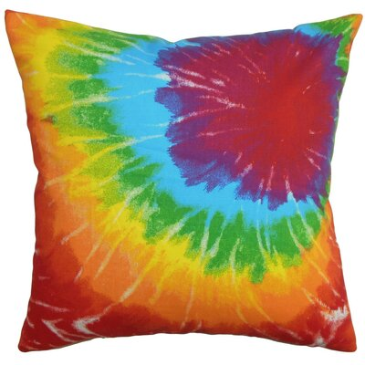 "The Pillow Collection 20"""" Square Rayen Coastal Throw Pillow P20-D-21020-SUMMER-C100"
