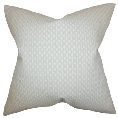 Orit Geometric Throw Pillow Cover Color: Gray