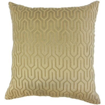 Katara Geometric Linen Throw Pillow Cover