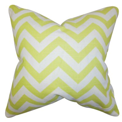 Gaines Chevron Throw Pillow Size: 18 x 18