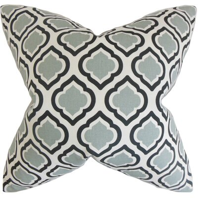 Camile Geometric Throw Pillow Cover Color: Gray
