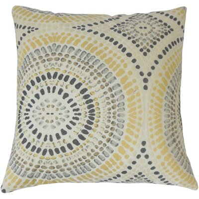 Dympna Geometric Cotton Throw Pillow Cover