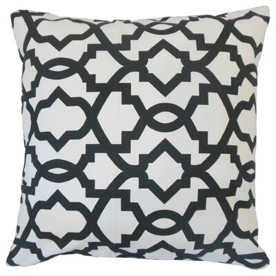 Daveney Geometric Cotton Throw Pillow Size: 18 x 18