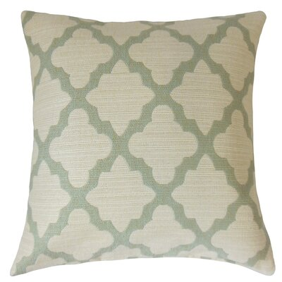Ferrol Geometric Cotton Throw Pillow Cover