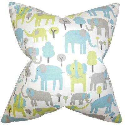 Carleton Animal Print Cotton Throw Pillow Cover