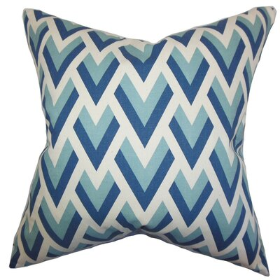 Eleri Geometric Cotton Throw Pillow Size: 18 x 18