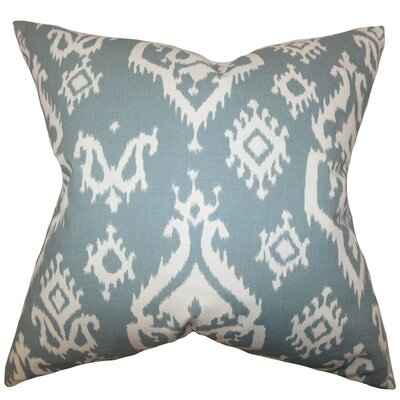 Halona Ikat Cotton Throw Pillow Cover