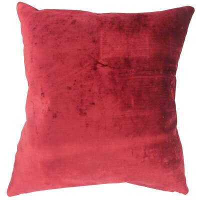 Burkey Solid Outdoor Throw Pillow Cover