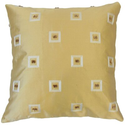 Quynh Geometric Cotton Throw Pillow Cover