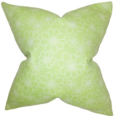 Hagar Floral Throw Pillow Size: 18 x 18