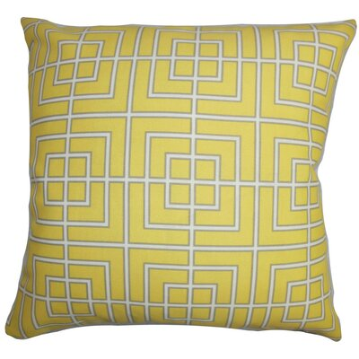 Sanaa Geometric Outdoor Throw Pillow Size: 18 x 18