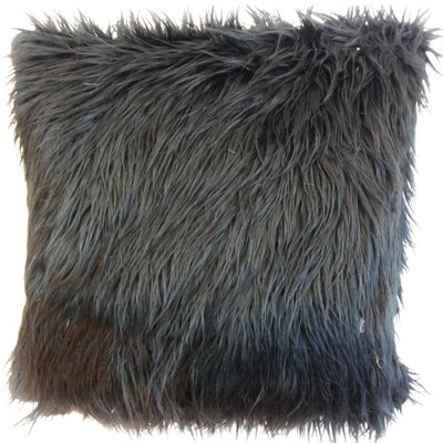Deloris Faux Fur Cotton Throw Pillow Cover